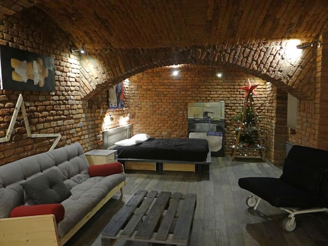 "LOFT APARTMENT ""THE DOORS"" in center of Prague - ปราก - เซอร์วิสอพาร์ทเมนท์"