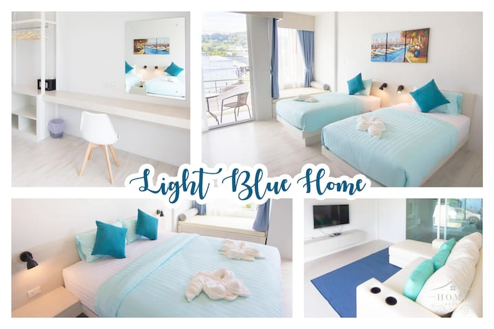 Light Blue Home Krabi