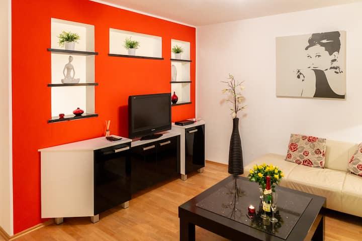 Gemütliches kleines, zentrales Apartment
