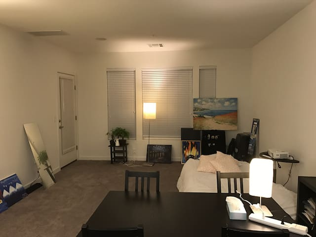 Private living room within one bedroom apartment - Secaucus - Departamento