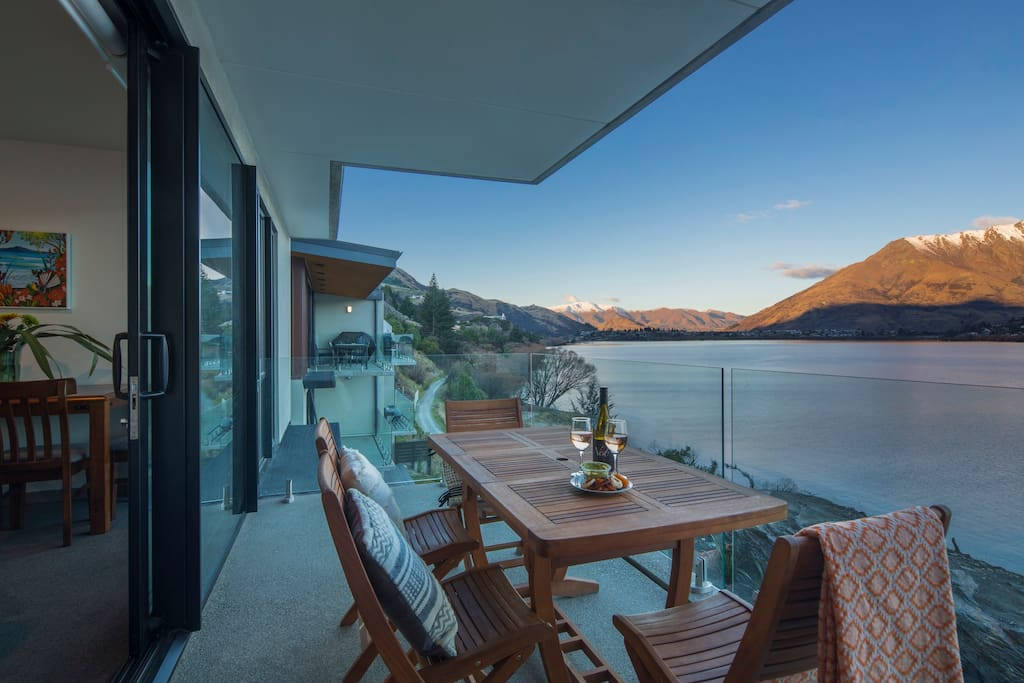 Panoramic Views of the Remarkables and Lake Wakatipu