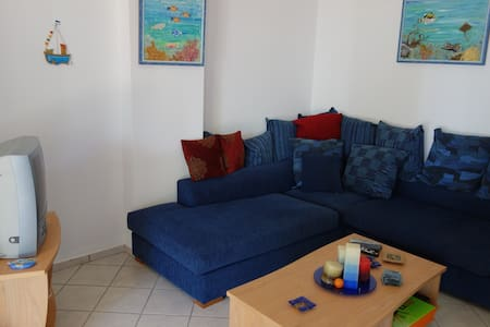 SeaFront 3,family-friendly Bungalow - Kato Sounio - บังกะโล