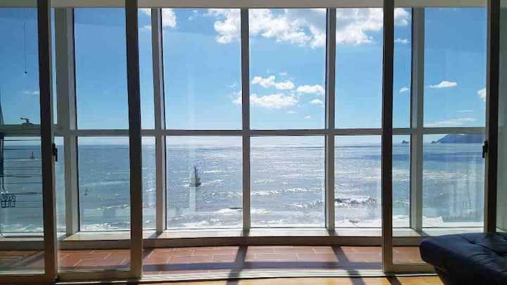Family Suite Room(234m2)#71평#해운대도보1분#바다전면뷰VIP객실