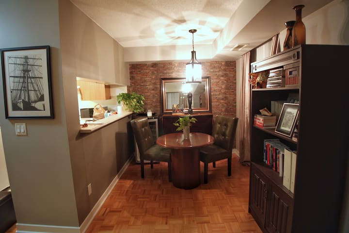 Pretty one bedroom uptown apartment