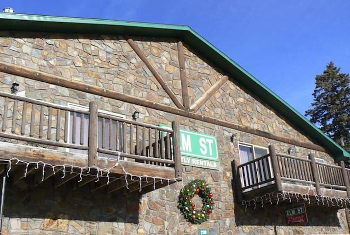 Spruce-Cabin-Condo - Hill City - Condomínio