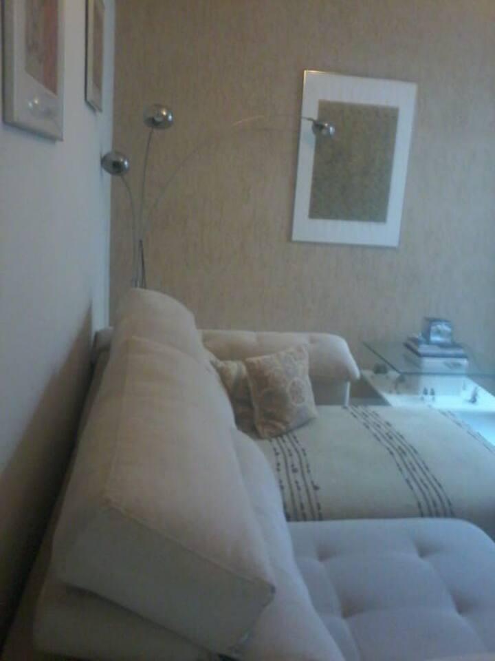 Apartamento  aconchegante , 2 quartos , 3 camas C.