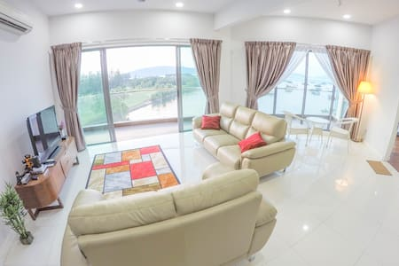 Twin Room in Condominium @ Loft. Great location. - Kota Kinabalu