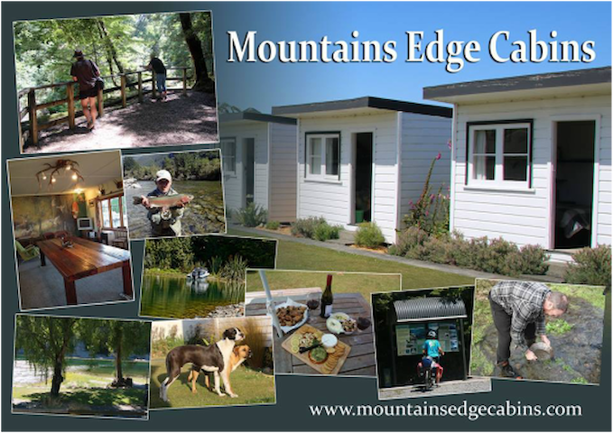 Mountains Edge Cabins, Monowai Village, Southland