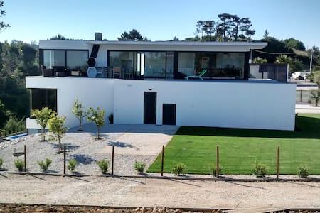 Modern quiet villa near Nazare,  pool, all comfort