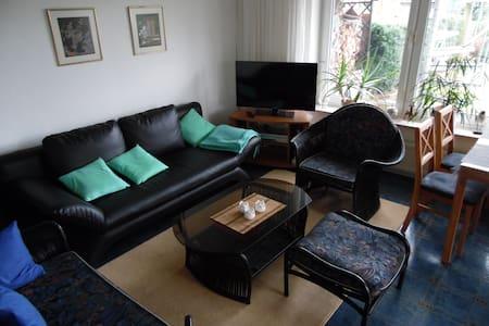 Gemütliche Zweizimmerwohnung an schönem Garten - Bückeburg - Huoneisto