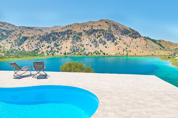 Lake Front Villa for 12, with 2 New Private Pool
