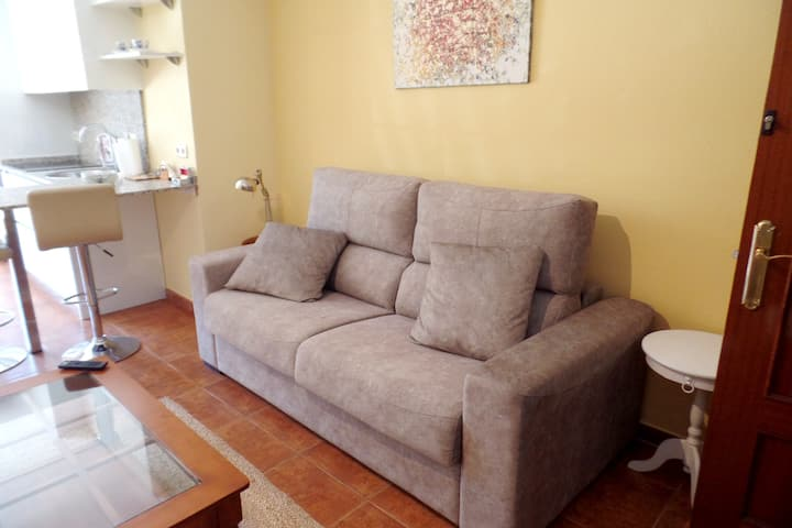 Apartment with one bedroom in Collado Villalba, with furnished garden and WiFi