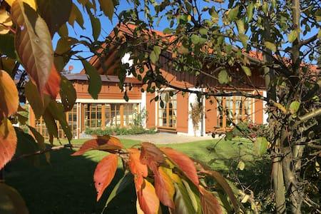 Gemütliches Ferienhaus im Allgäu mit Spa & Garten - Oberreute - Talo