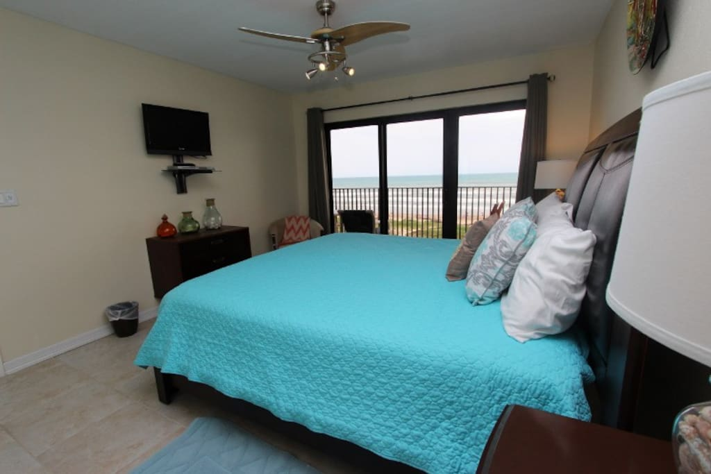 Master Bedroom with Oceanfront Views