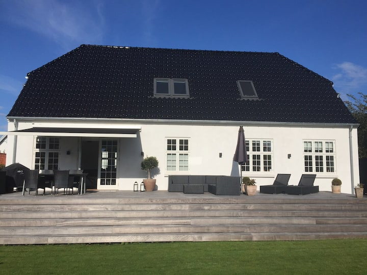 Perfect new build villa 3 km from Aarhus city