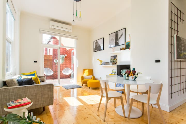 Modern Heritage in the Heart of Fitzroy - Fitzroy - Apartmen