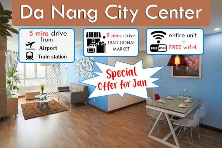 @Danang Center1# 2bedroom apartment City View