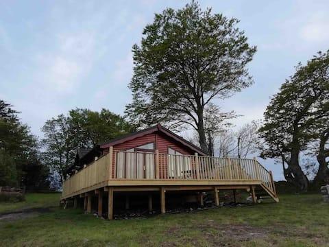 Beautiful Cosy Log Cabin in Dartmoor