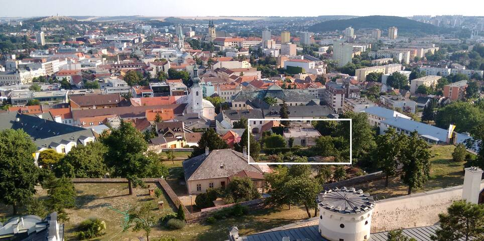 Unique stay on the castle hill in Nitra 2