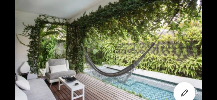 Villa 2BR in seminyak 300mt to Ku de ta beach 75%