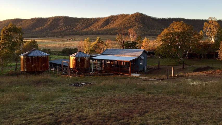 The Grain Shed Retreat on 800 acres