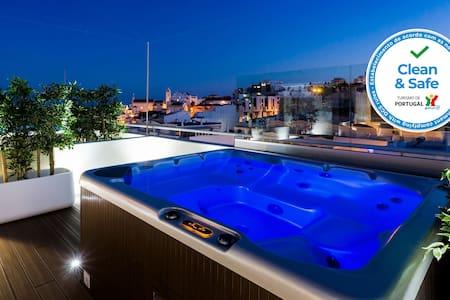 Penthouse Priv Jacuzzi Downtown 2