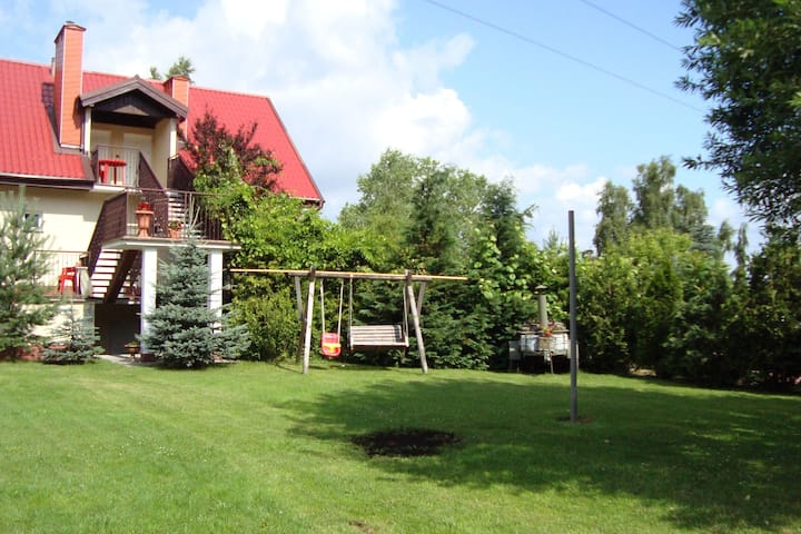 Lavish Holiday Home in Zgorzale Pomeranian with Private Pool