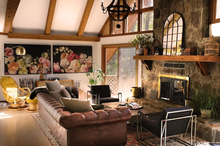 Relaxing & Exquisite Mtn Chalet - Downtown Clayton