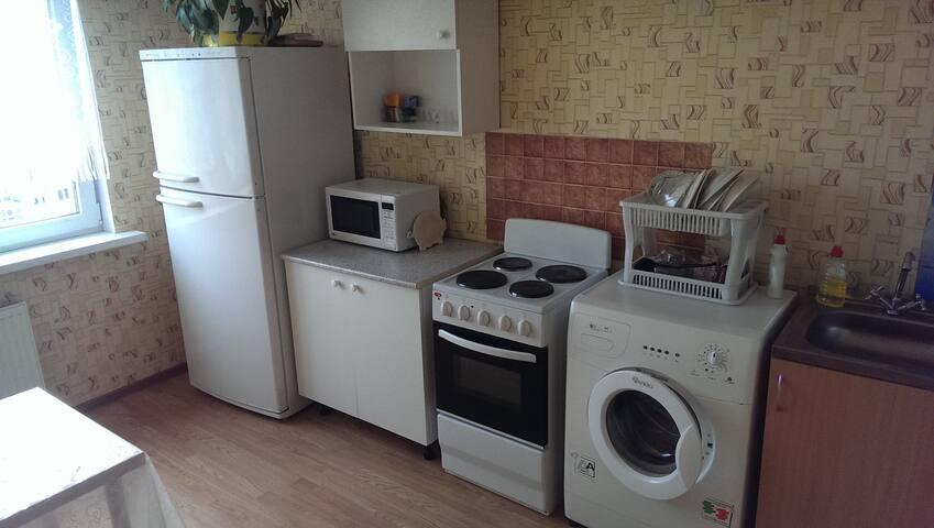 Двухкомнатная просторная квартира в Славянке