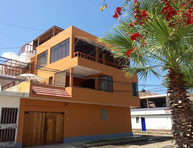 Furnished apartment with ocean view terrace - Huanchaco - Apartamento