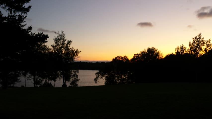Chapel Cove Bay sunset