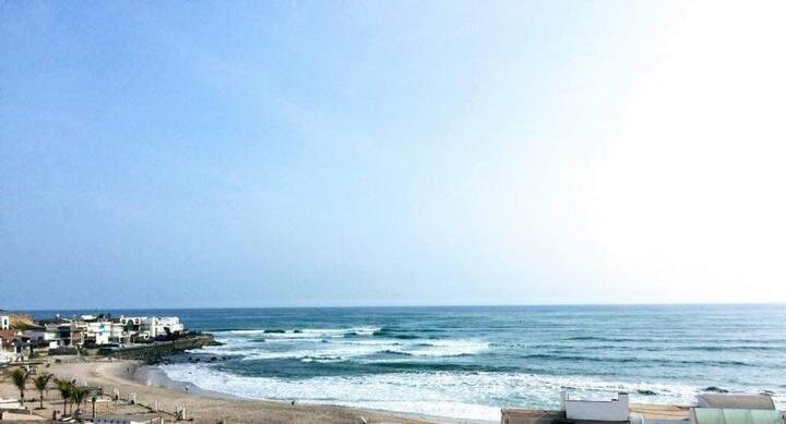 Departamento en playa Los Pulpos