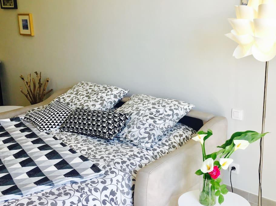 canapé lit super confort