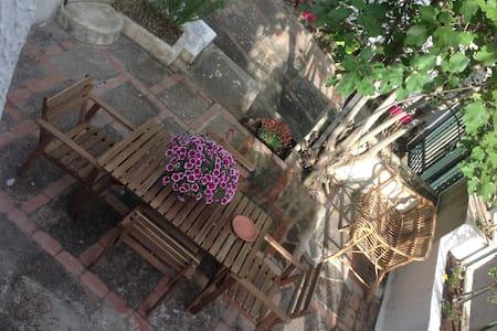 Casa indipendente con ampio giardino a Capaccio - Rumah