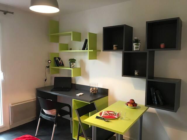 Studio 19m² dans résidence sécurisée