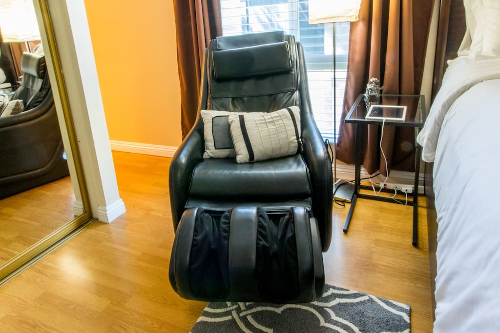 Relax during your stay with the in-room massage chair!