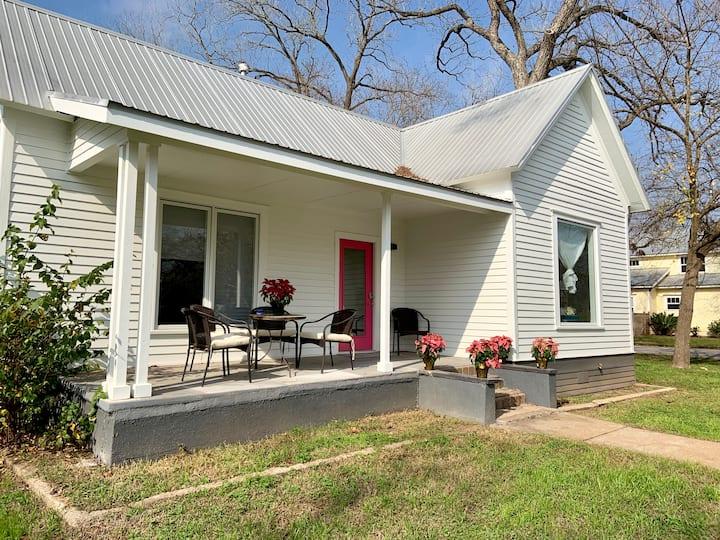 Farm house with modern twist.