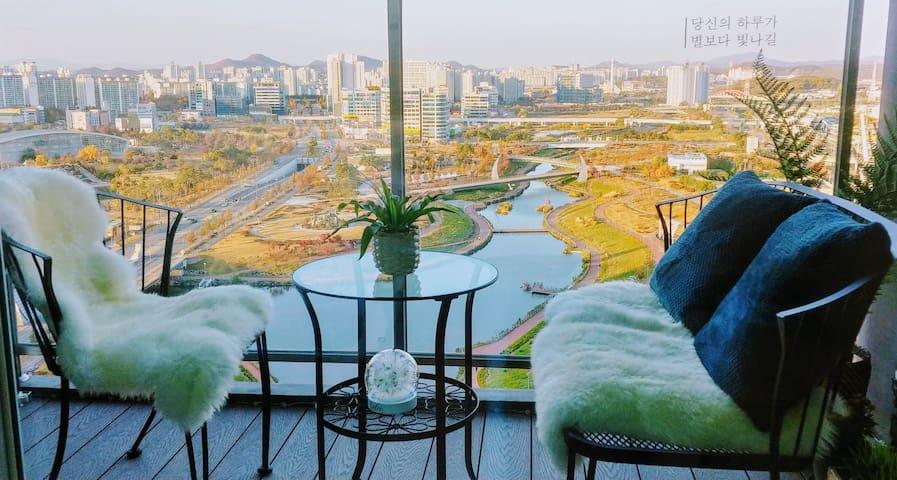 ★야당역 도보5분★ 전망이 아름다운 집