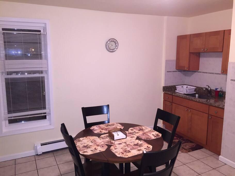 Large new kitchen