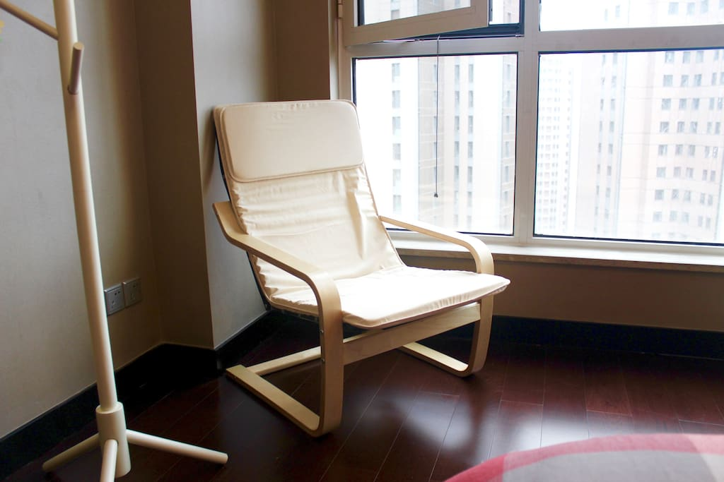 Reading chair (red bedroom)