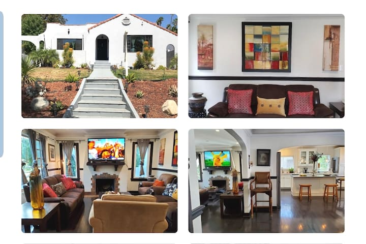 Gourges Spanish Style 4 Bedroom House Glendale LA!