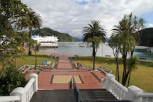 Picton Foreshore (only 8 min drive away) Can watch the ferries come and go from here, or wander back up High Street for a shop.