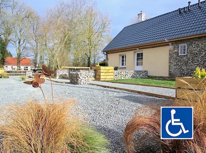 LE PAPILLON, disability friendly  in Baie de Somme
