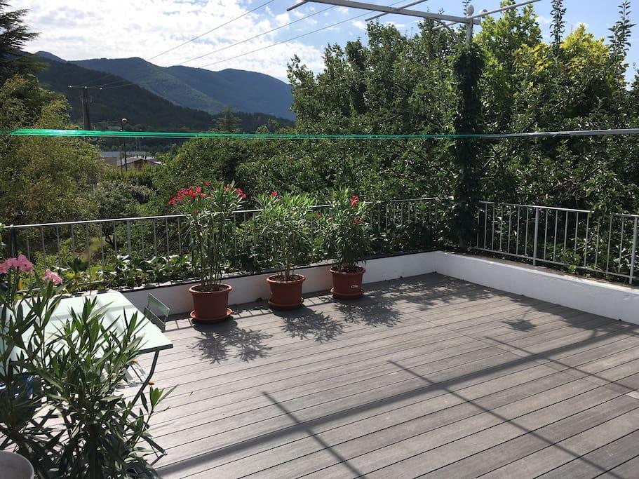 Chambre D 39 H Te Avec Terrasse Et Vue Imprenable Casas En