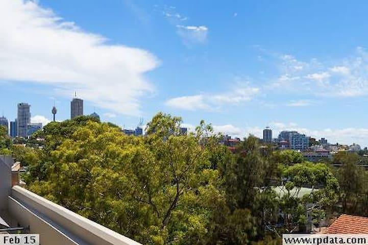 Sub penthouse with city views - Paddington - Apartamento