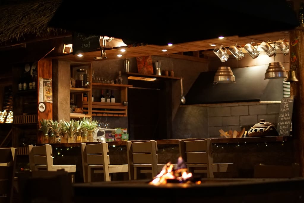 Cuisine-Bar de l'hôtel