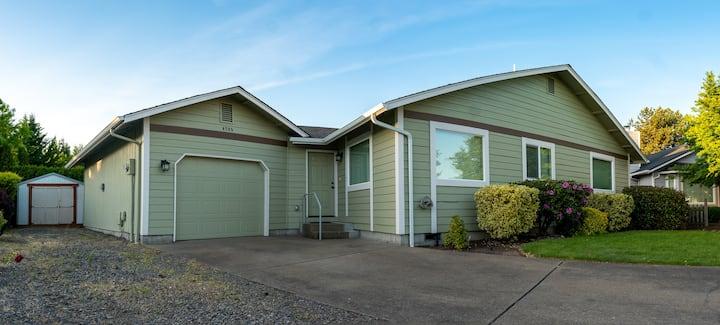 Quiet home in West Eugene