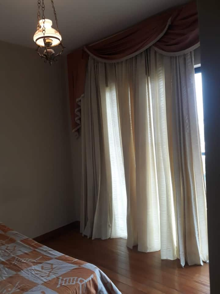 Suite individual com vista panorâmica