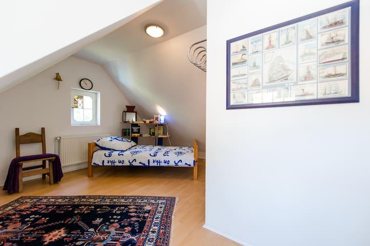 Морская комната в старинной вилле на лоне природы - Unterlüß - Apartemen
