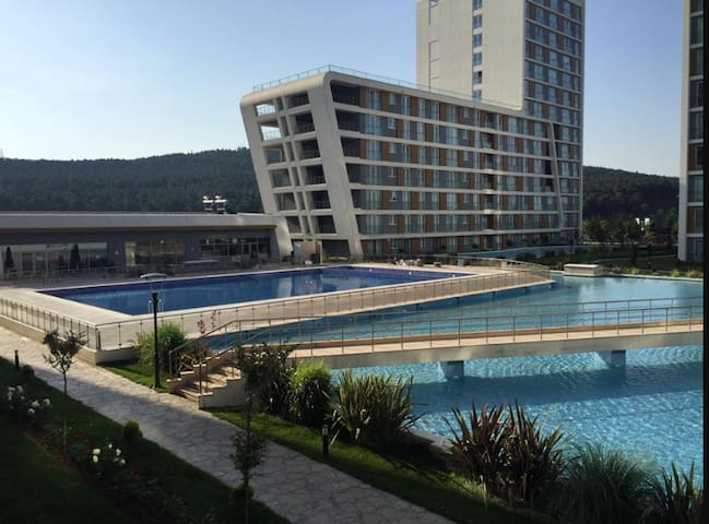Holiday apartment with pool - İstanbul - Flat